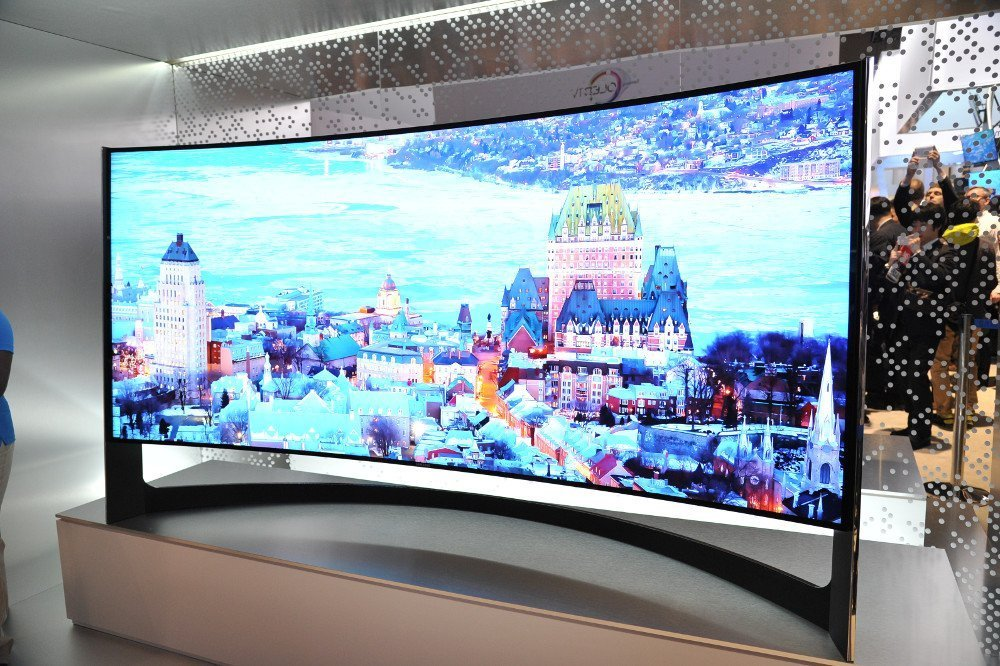 CES 2014 Samsung UHD Curved 105
