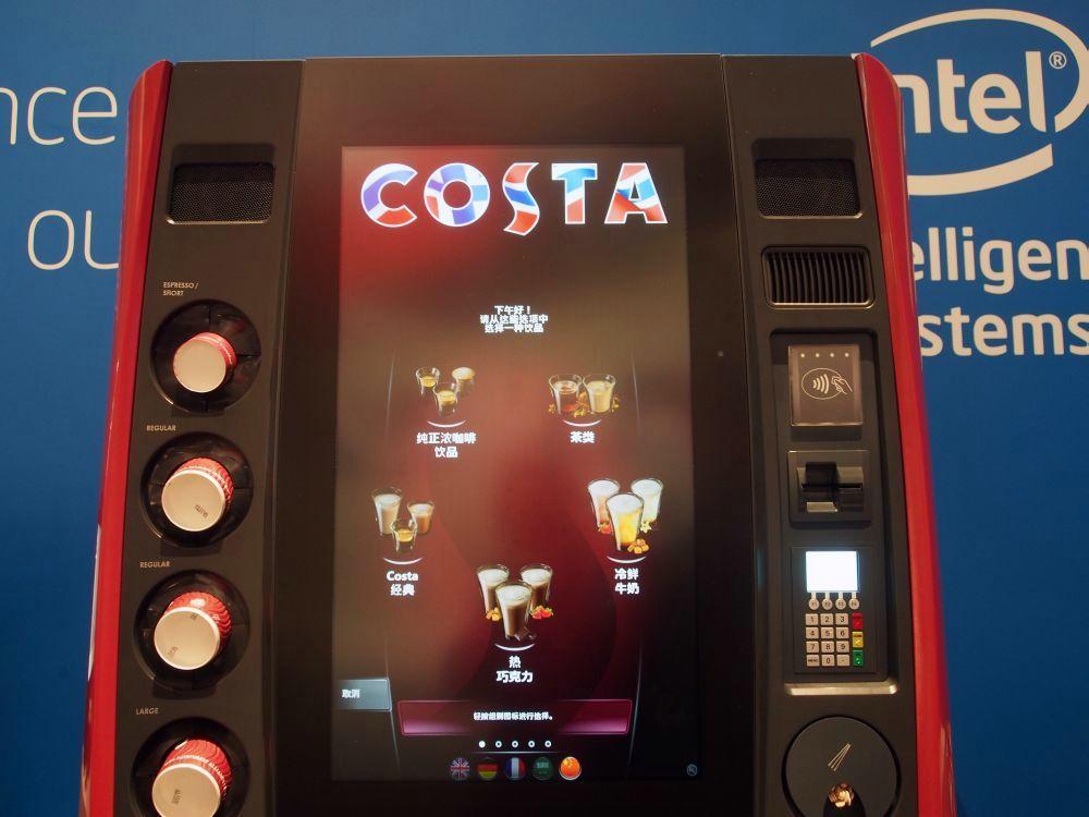 Überzeugender Auftritt: Costa Express auf der Wincor World 2014 (Foto: TK/ invidis.de)