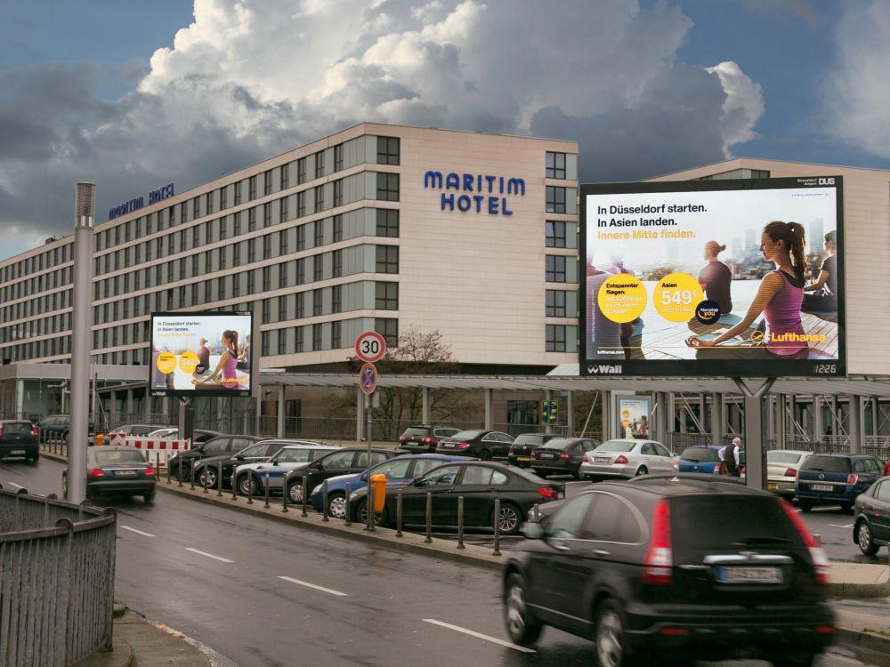 Düsseldorf: Seit Ende 2013 stehen 3 DCLB am Flughafen zur Verfügung (Foto: Wall AG)