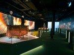 Olympisches Museum in Lausanne: Exponate im Innenraum (Foto: Panasonic)