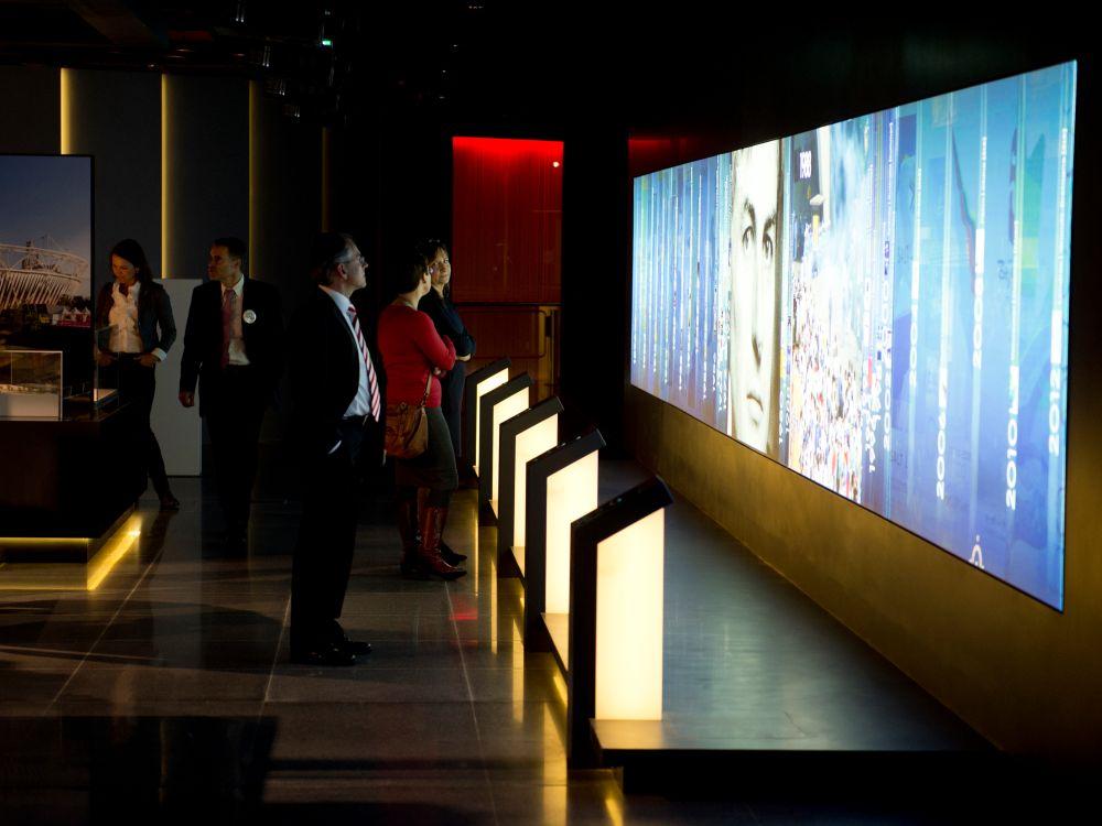Fast 1 Jahr war das IOC-Museum wegen der Neugestaltung geschlossen (Foto: Panasonic)