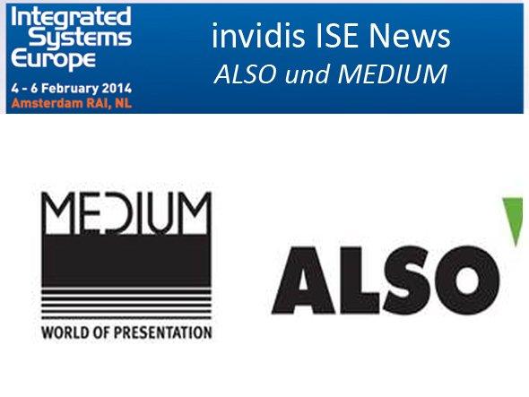 MEDIUM und ALSO kommen gemeinsam nach Amsterdam (Grafik: ALSO; Montage: invidis.de)