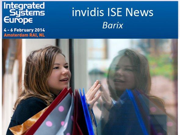 Mit einem multisensorischen Ansatz will Barix auf der ISE überzeugen (Foto: Barix; Montage: invidis.de)