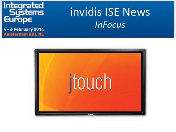InFocus zeigt seine Produkte in Halle 9 (Foto: InFocus; Montage: invidis.de)