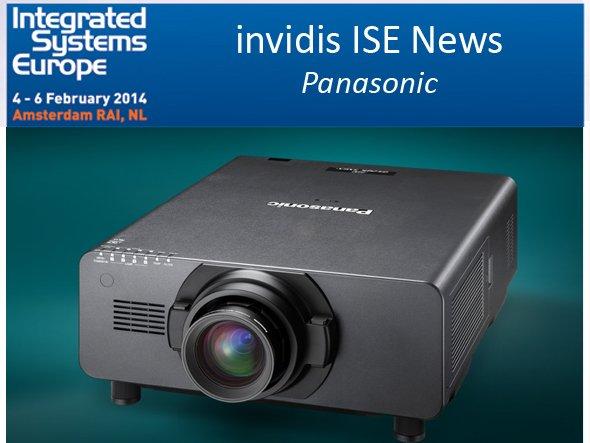 Projektoren wie der DZ21KE werden in Amsterdam in Anwendungsszenarien gezeigt (Foto: Panasonic; Montage: invidis.de)