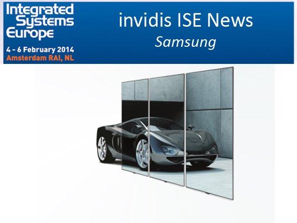 LFD-Portfolio wird gezeigt: weltweit größtes EDGE-LED-Display ME95C (Foto: Samsung; Montage: invidis.de)