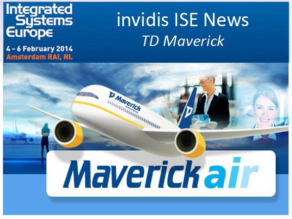 TD Maverick hebt ab Richtung ISE (Foto: TD Maverick; Montage: invidis.de)
