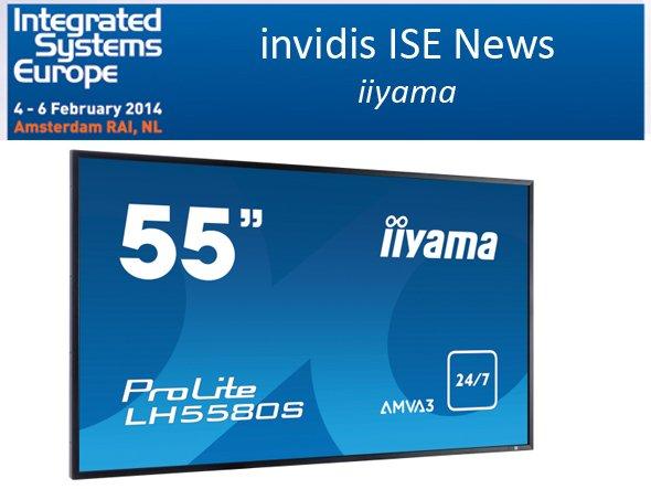 An Stand 10-K146 zeigt iiyama seine beiden Neuheiten (Foto: iiyama; Montage: invidis.de)