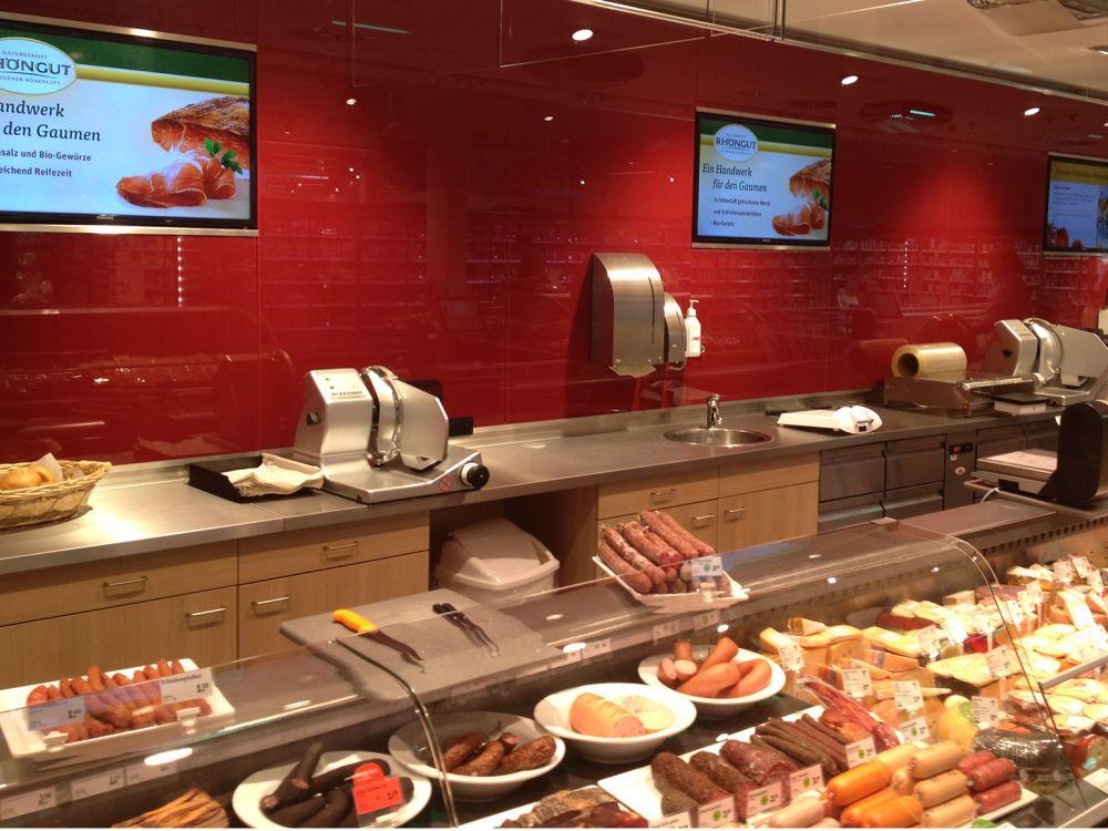Displays von NEXGEN smart instore bei tegut... (Foto: Nexgen)