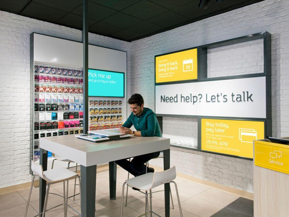 Concept-Store von Argos in London - Design wurde modernisiert (Foto: Argos)