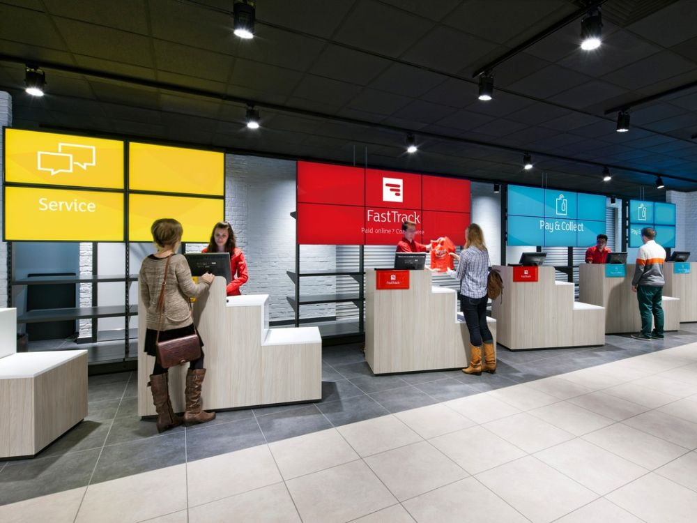 Argos - neuer Store mit Fast Track-Kassen(Foto: Argos)