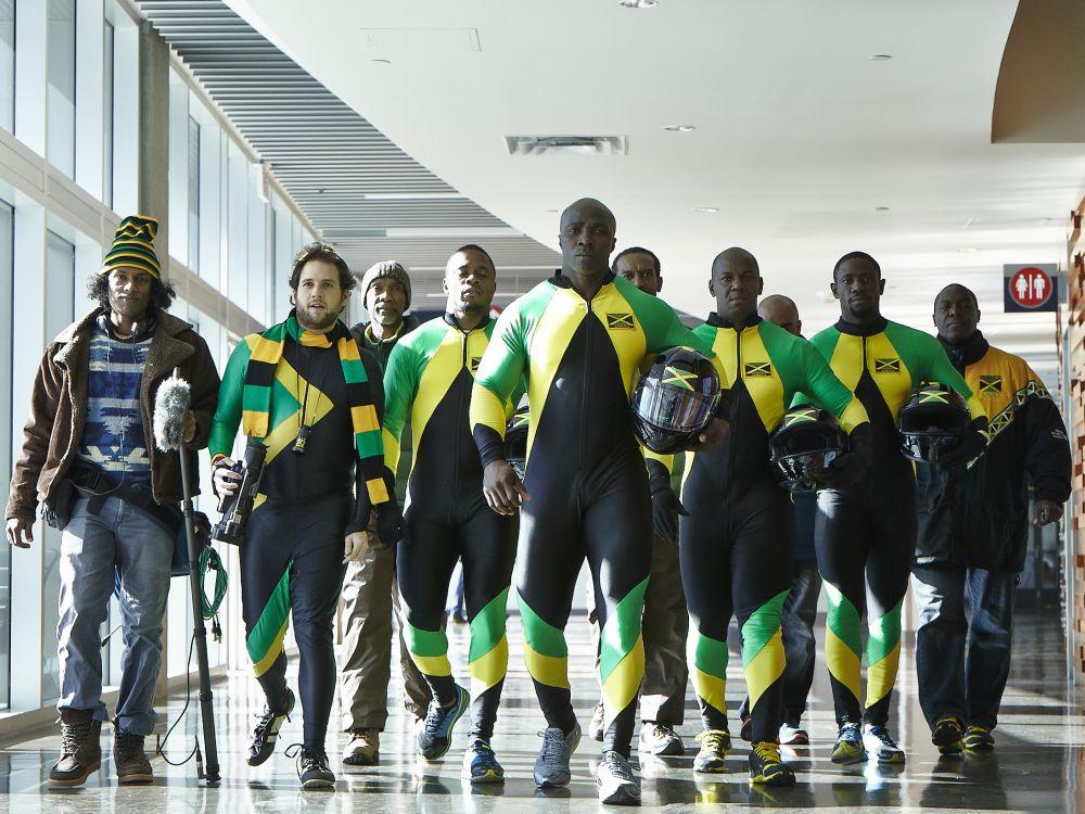 Bobteam - Die Jamaikaner machen sich für Sochi fit (Foto: Samsung)