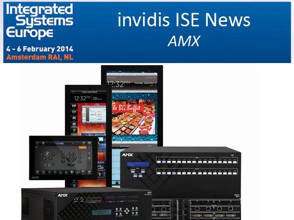 ISE 2014: Touch-Panels der Modero-Serien sowie Software werden bei AMX zu sehen sein (F: AMX; M: invidis.de)