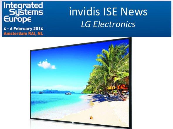 LG zeigt neue Shine out Displays auf der ISE