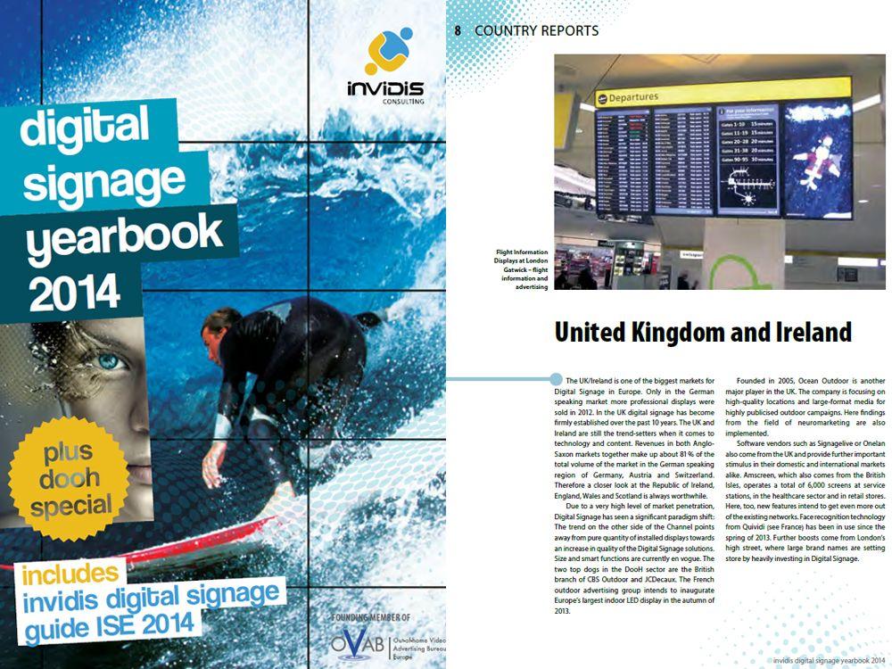 Neu: Das invidis Digital Signage Yearbook