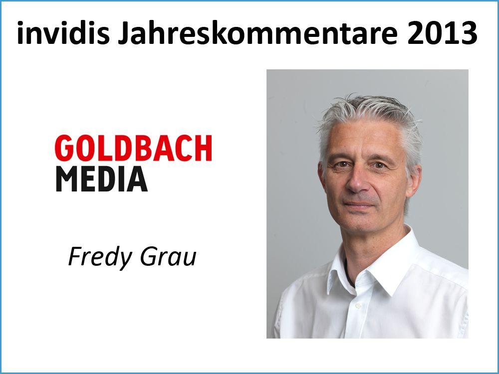 Fredy Grau, Goldbach Media (Switzerland) AG