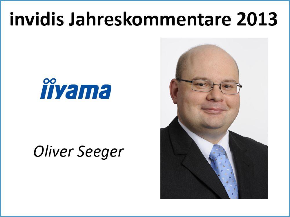 Oliver Seeger, iiyama International