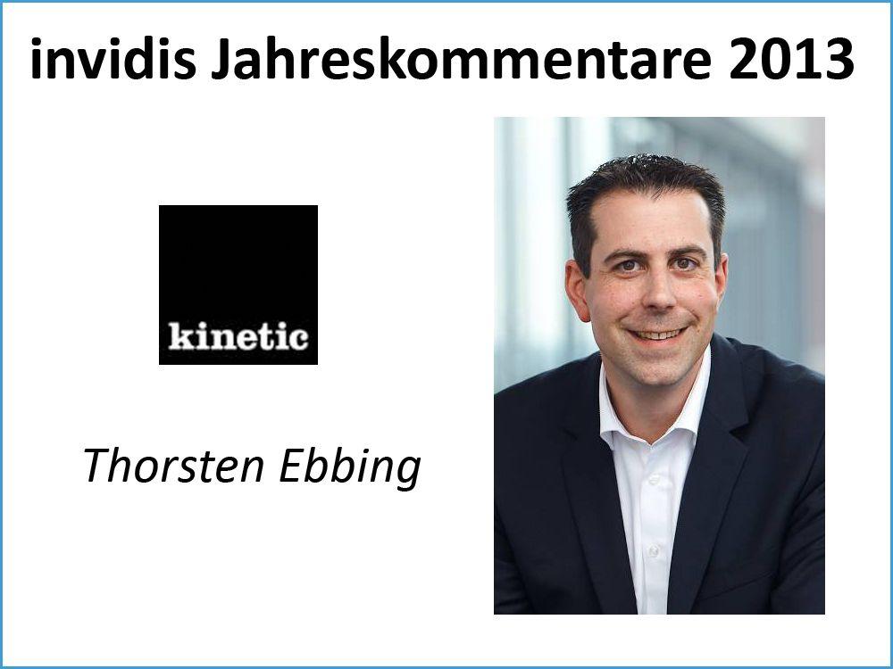 Thorsten Ebbing, Kinetic Worldwide Germany