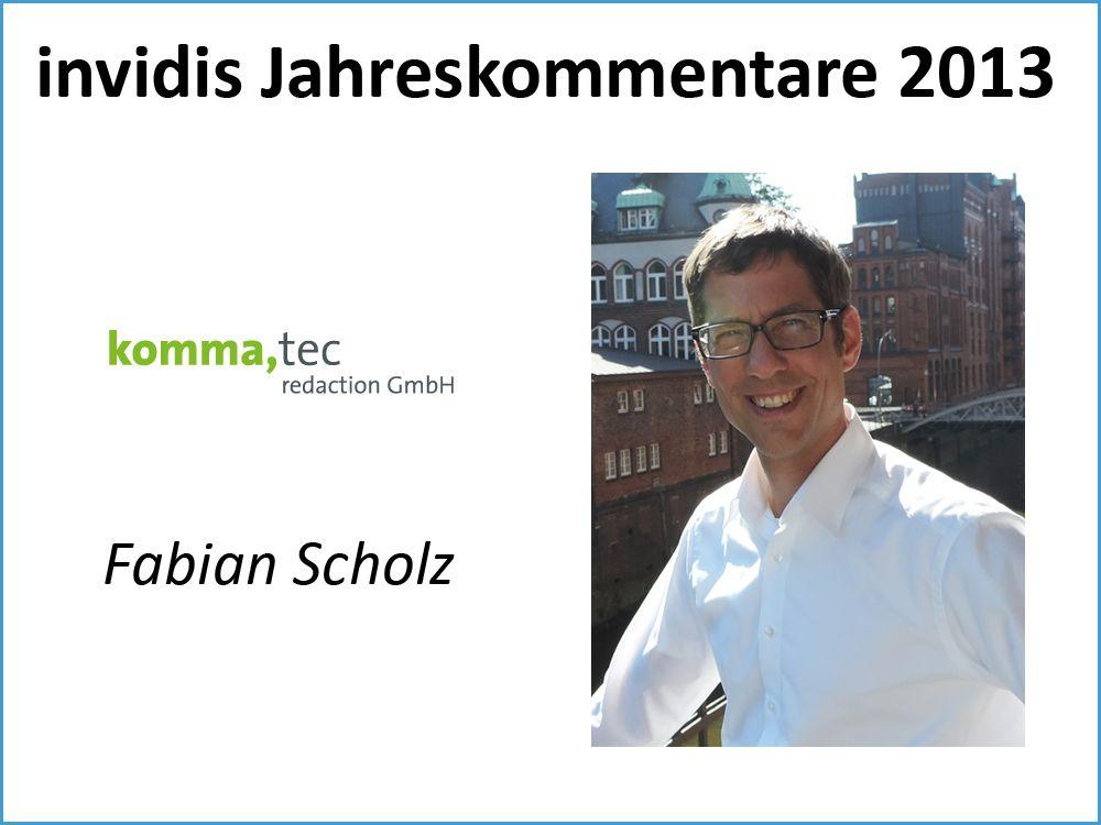 Fabian Scholz, komma,tec redaction GmbH