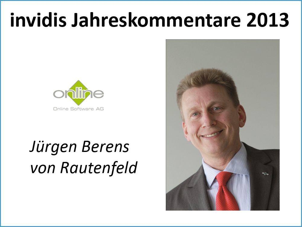 Jürgen Berens von Rautenfeld, Online Software AG