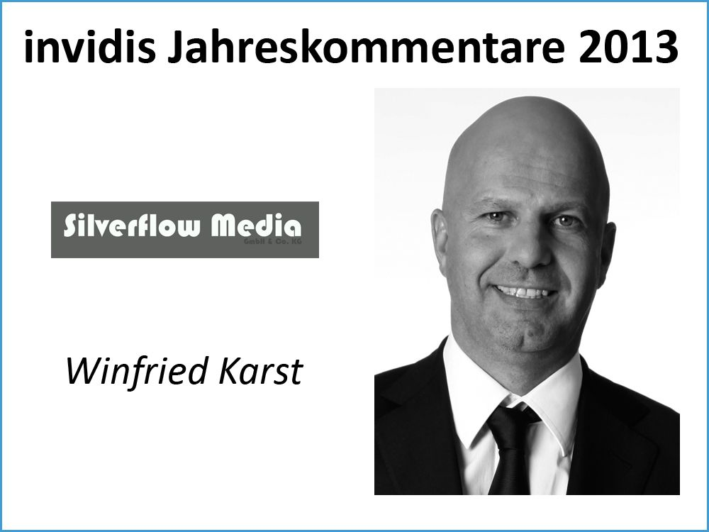 Winfried Karst, Silverflow Media