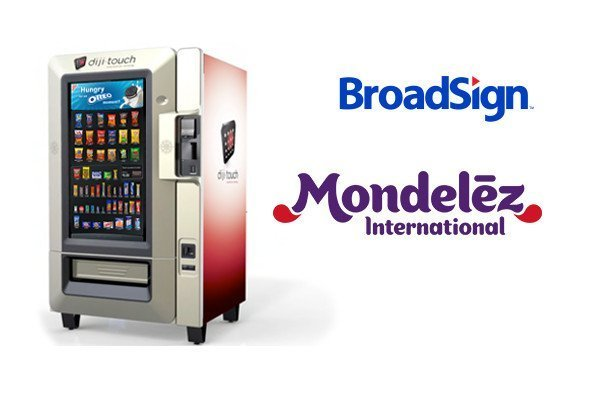 Diji Touch Mondelez Snack Automaten