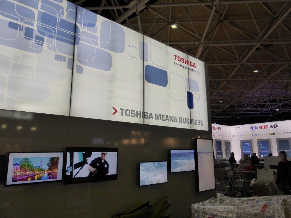 Premiere: Toshiba Präsentiert Digital Signage Displays