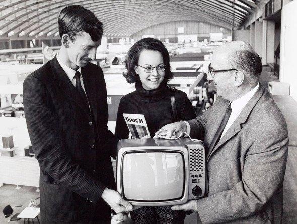Premiere des Farbefernsehn 1971 im RAI - weit vor der ersten ISE (Foto: RAI)