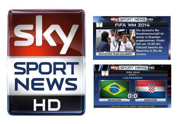 Sky Sports News HD bietet spezielle Pakete zur WM