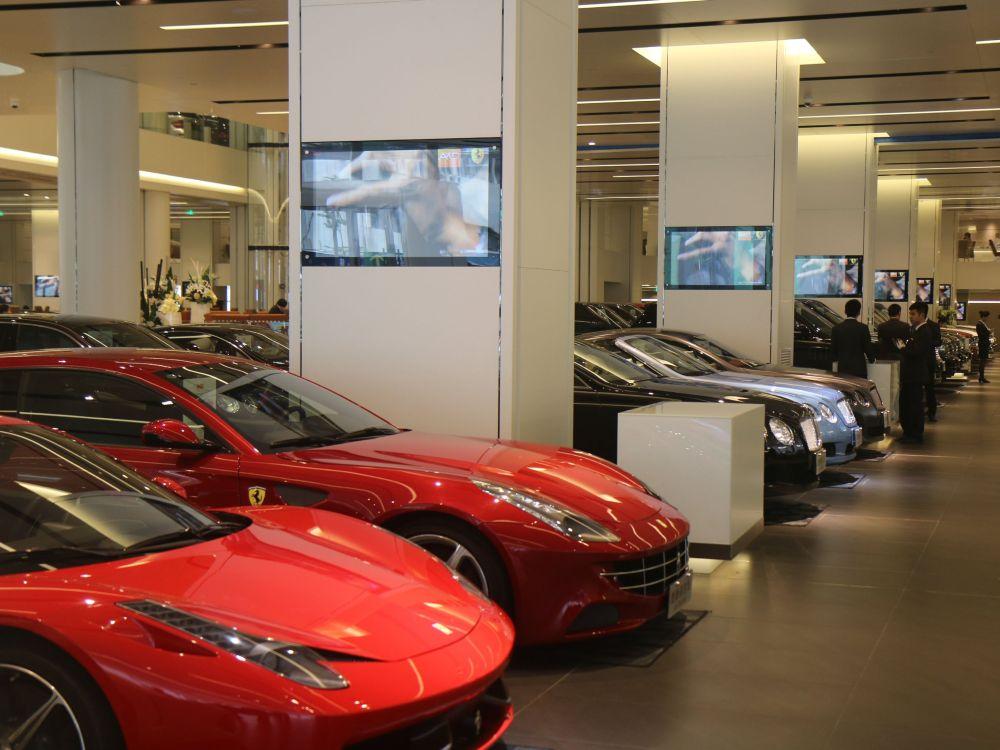 AKD in Shenzhen ist Chinas größtes Autohaus (Foto: BrightSign)