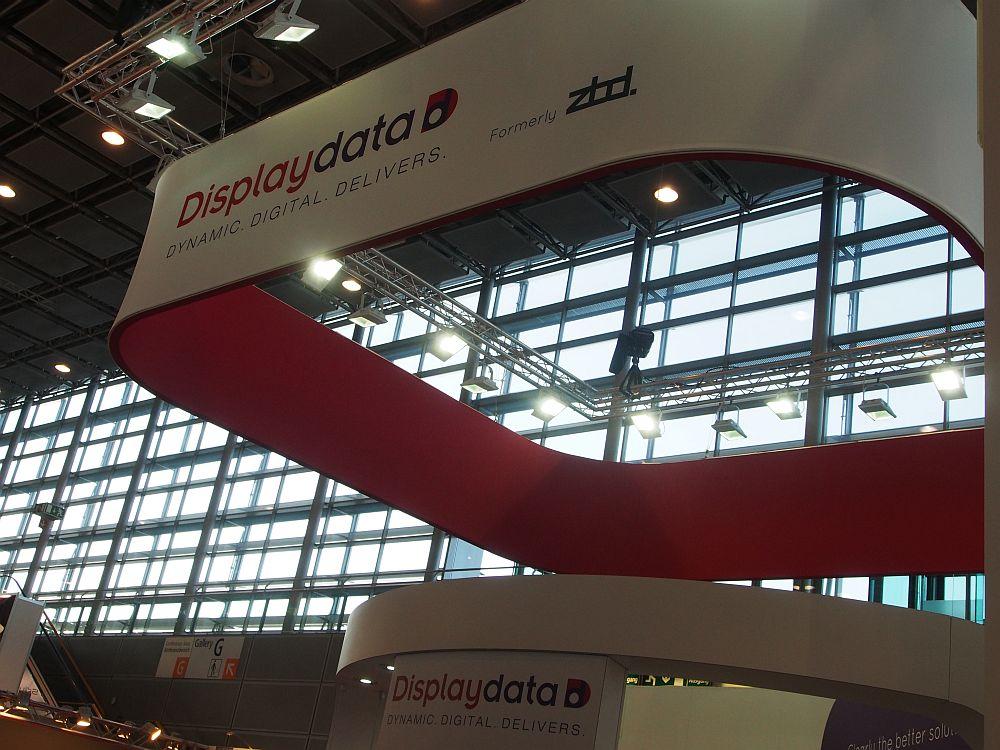 Displaydata Stand auf der EuroShop 2014 (Foto: TK/ invidis.de)