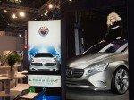 Westiform zeigte Mira - mit LED hinterleuchtete, textilbespannte Werbemittel (Foto: TK/ invidis.de)