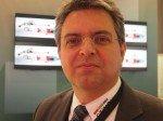 Stinova-Geschäftsführer Franz Hintermayr  auf der ISE 2014 (Foto: TK/ invidis.de)