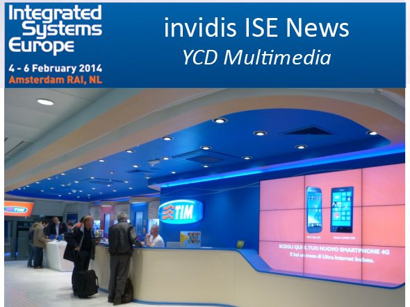 Arbeitet mit YCD Multimedias Digital Signage-Plattform: Telecom Italia Flagship Store am Airport Rom (Foto: YCD Multimedia; Montage: invidis.de)