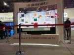 LG zeigte auf der ISE 2014 auch ein Curved Ultra HD in 21:9 Bildformat (Foto: TK/ invidis.de)
