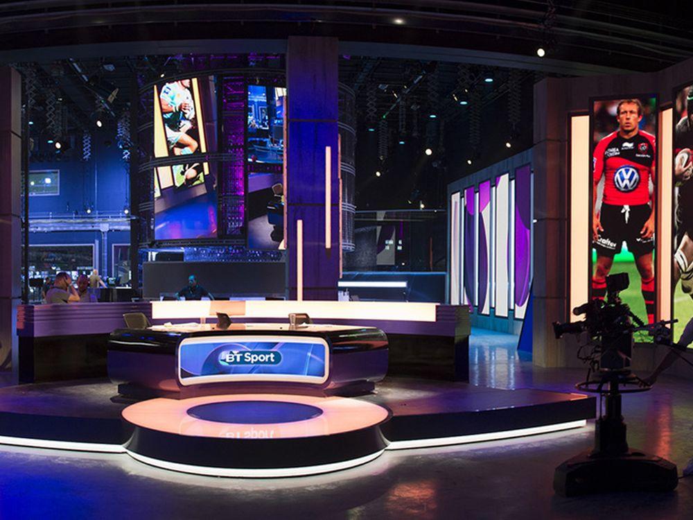Timeline Televiion stattete das neue BT Sport Studio inklusive Kontrollraum aus (Foto: Timeline Television)