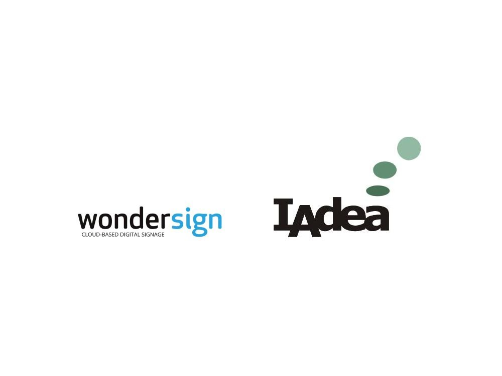 Wondersign und IAdea USA vereinbaren eine Technologie-Partnerschaft (Grafiken: Wondersign; IAdea; Montage: invidis.de)