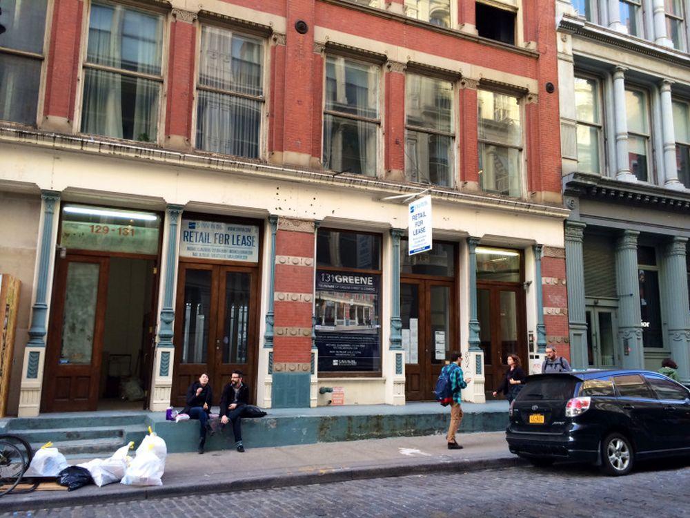 An der 131 Greene Street in New York könnte Google sich als Händler betätigen (Foto: VentureBeat / Harrison Weber)