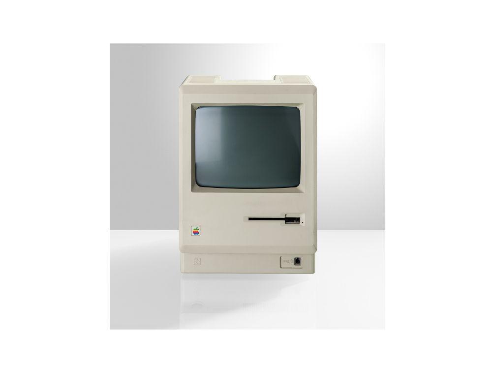 Apple-Raritär: der Macintosh 128K von 1984 (Foto: Gravis)