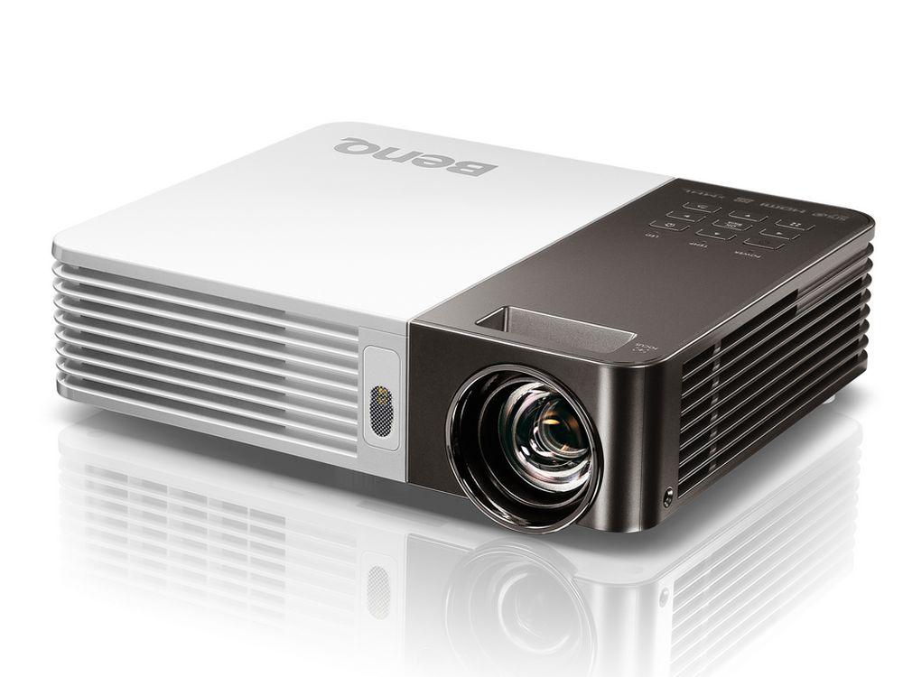 GP 20 - der Mobile LED-Projektor wiegt 1,5kg (Foto: BenQ)