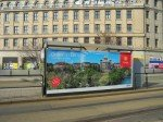 "Kampagne im März 2014 in Leipzig: ""Bern sagt Grüezi"" (Foto: WallDecaux)"