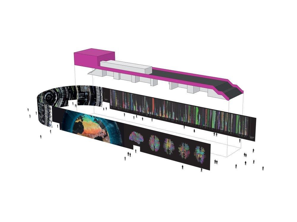 So wird der CODE_n-Stand auf der CeBIT 2014 aussehen (Grafik: Kram/Weisshaar)