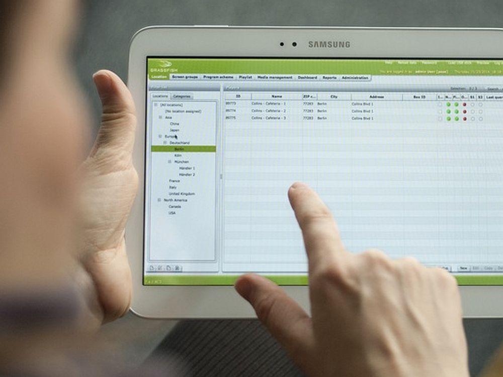 Beim Release V7.4 hat man den Schwerpunkt auf Android-Funktionalitäten gelegt (Foto: Grassfish)