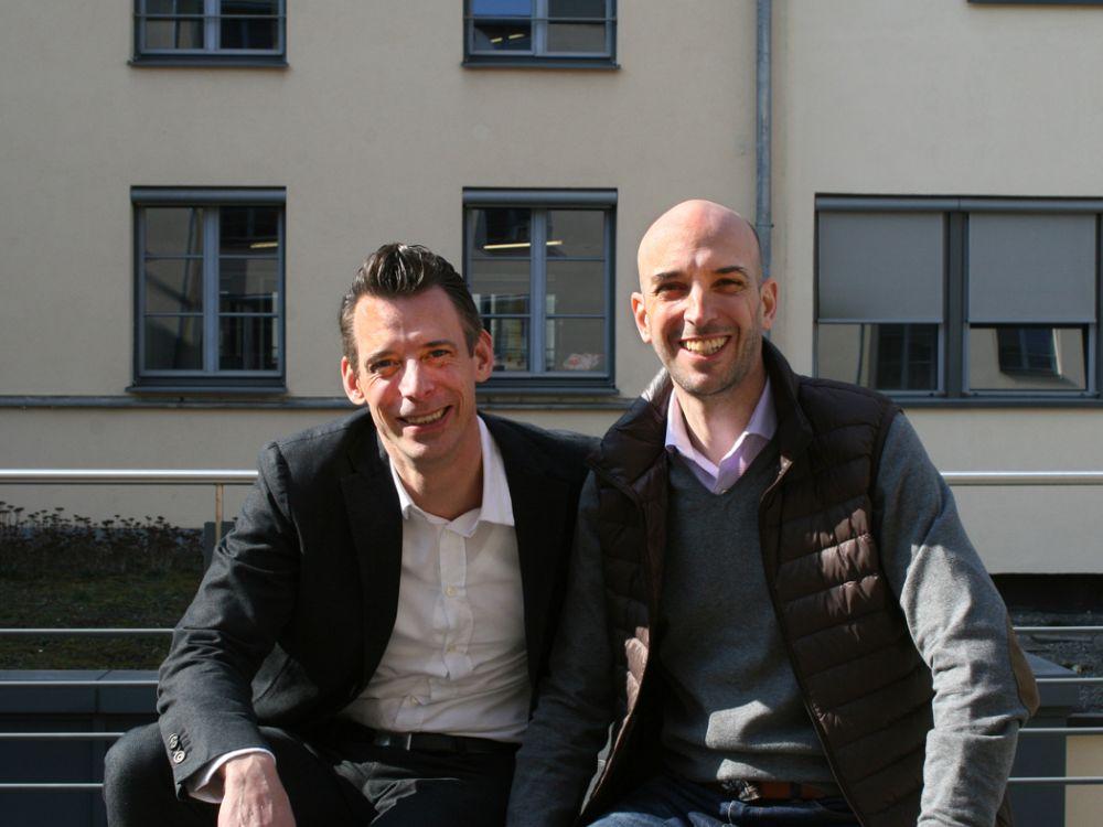 Serviceplan Campaign: Henning Patzner (l.) wird freier Berater, Cosimo Möller (r.) sein Nachfolger als Kreativgeschäftsführer (Foto: Serviceplan)