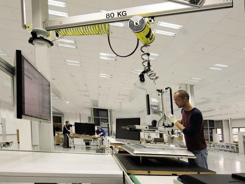 Soll erhalten bleiben - Produktion bei Loewe in Kronach (Foto: Loewe)