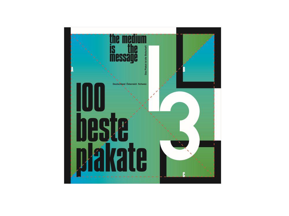 Die 100 besten Plakate 2013 wurden nun gekürt, darunter sehr viele Auftragsarbeiten (Grafik: 2xGoldstein/ 100 beste Plakate)
