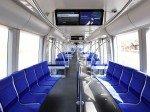 Infotainment und Münchner Fenster: U-Bahn- Zug der MVG  mit Doppel-Displays (Foto: SWM/MVG)