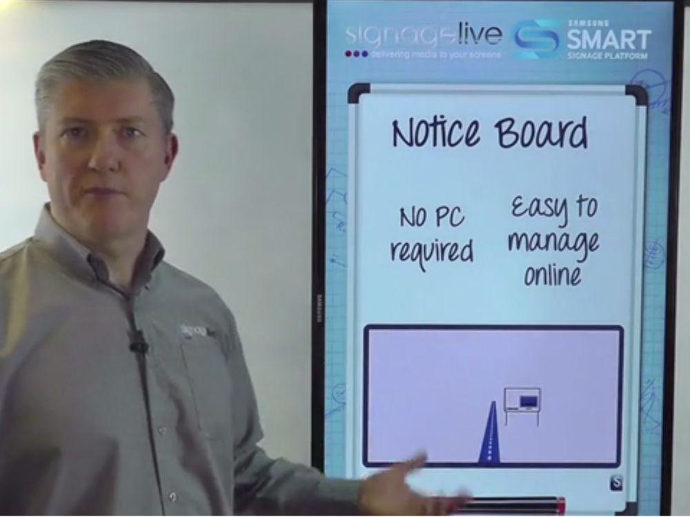 Signagelive hat die Funktionen seiner Software für SoC-Displays erweitert (Screenshot: invidis.de)