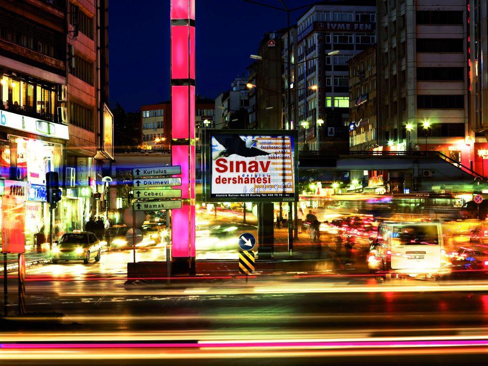 Ströer-Außenwerbung: Mega-Light in der Türkei (Foto: Ströer)