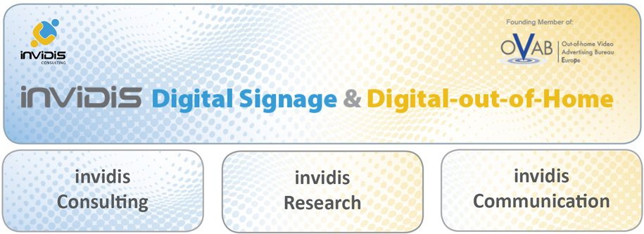 invidis Digital Signage und Digital out of Home